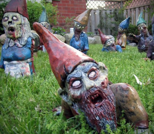 Nains de jardin of the dead
